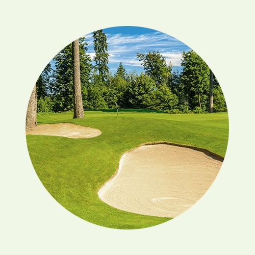 ... für Golf- und Sportplätze